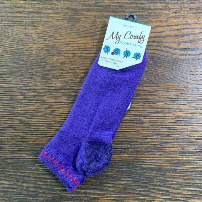 My Comfy Purple Sport Sock - Medium LC214