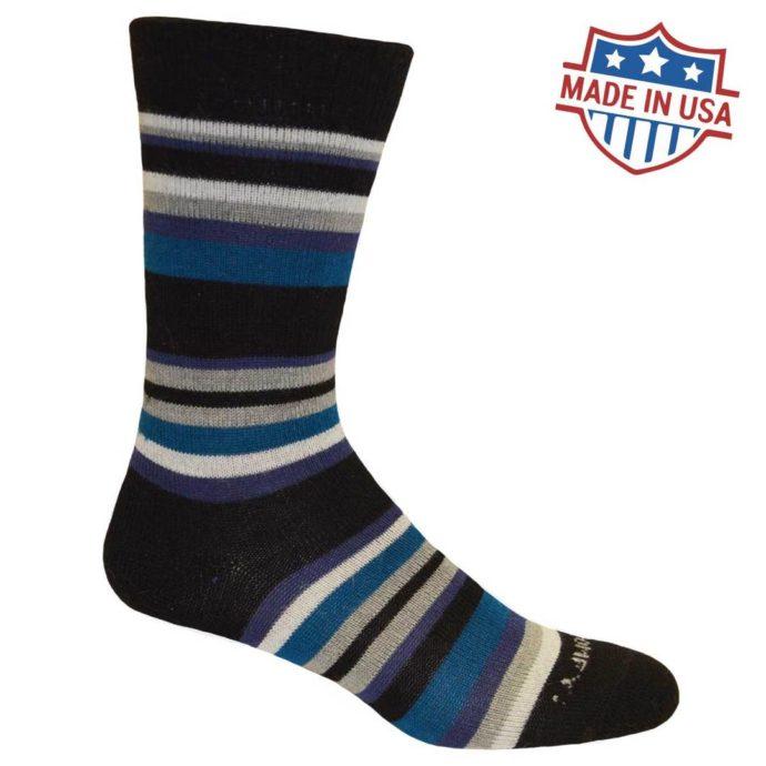 My Comfy Striped Dress Sock LC222