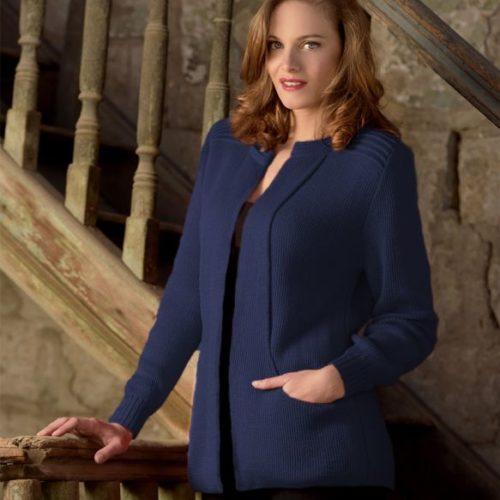 Ebel Melange Blue Sweater