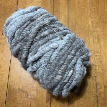 Silver Grey 2 lbs 4 oz Rug Yarn