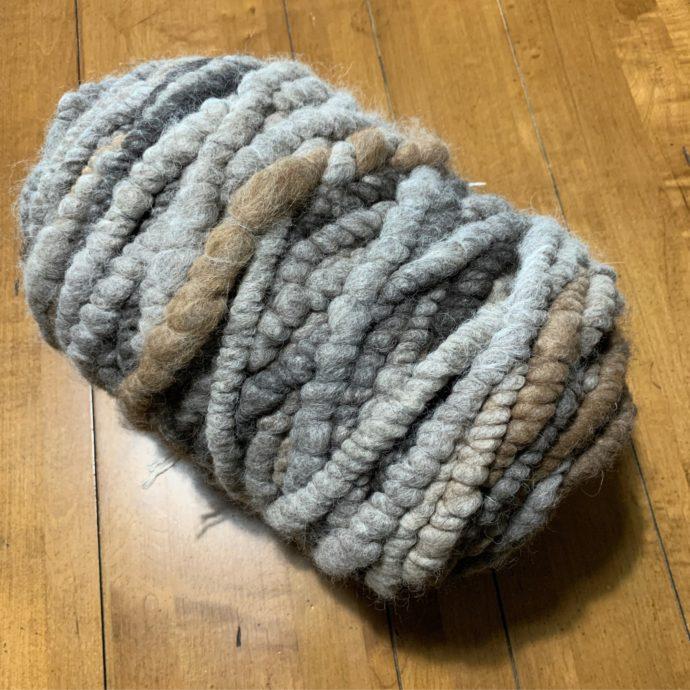 Grey Mix 3 lbs 2 oz Rug Yarn