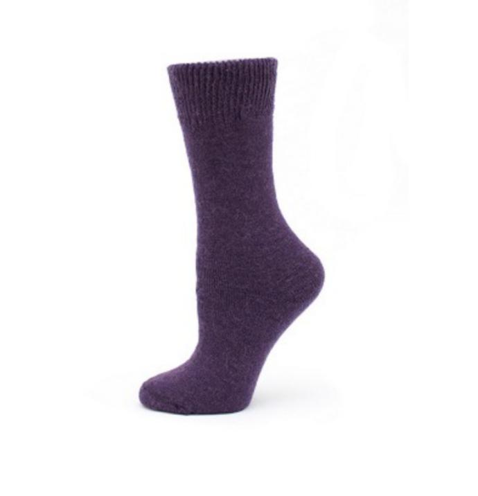 EA Purple Sport Sock