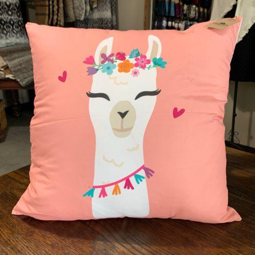 Alpaca Cartoon Pillows