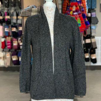 Charcoal Alpaca Blend Sweater
