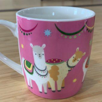 Llamapalooza Porcelain Mug