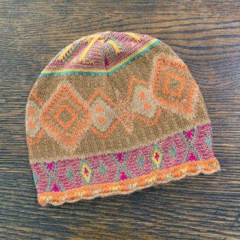 Cusco Multicolor Hat in 100% Baby Alpaca