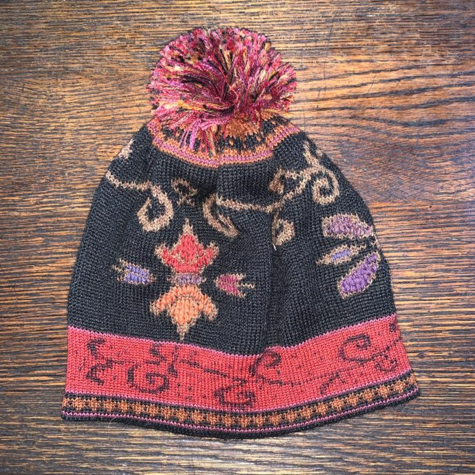Reversible Fiesta Hat With Pom