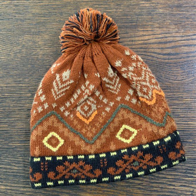 Butterscotch Lined Alpaca Knit Hat