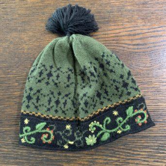 Fern Lined Alpaca Knit Hat