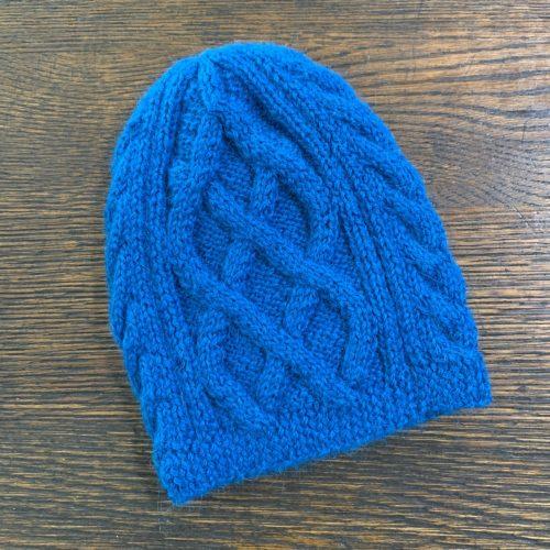 100% Alpaca Trenca Knit Hat