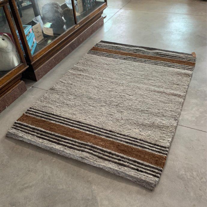 5'x7' Hand Woven Alpaca Rug
