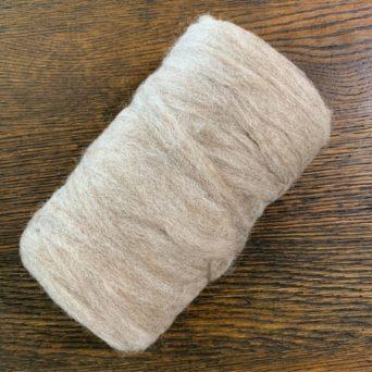 Grade 4 Alpaca Roving Light Grey 6.8 oz