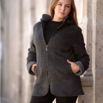 Grey Country Classic Jacket - Women's Medium