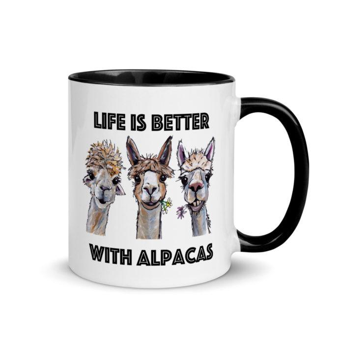 Life is Better With Alpacas Coffee Mug