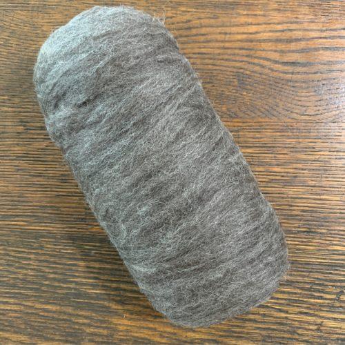 Grade 4 Roving Dark Silver Grey 5.3 oz