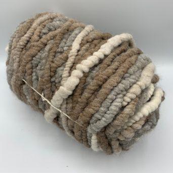 Light Rose Grey Alpaca Rug Yarn