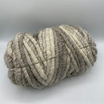 Alpaca Rug Yarn in Light Silver Grey