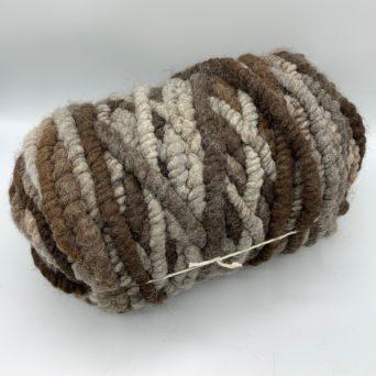Dark Rose Grey Alpaca Rug Yarn
