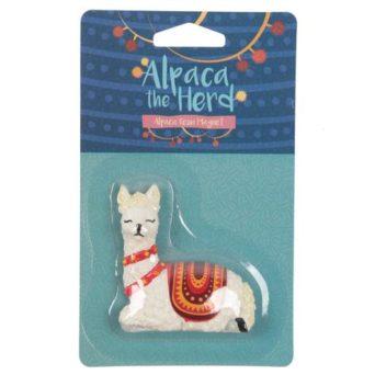 Alpaca the Herd Novelty Alpaca Magnet