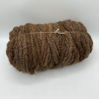 Alpaca Rug Yarn in Natural Brown