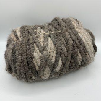 Silver Grey Alpaca Rug Yarn