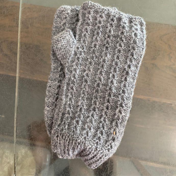 Fingerless Gloves in 100% Alpaca