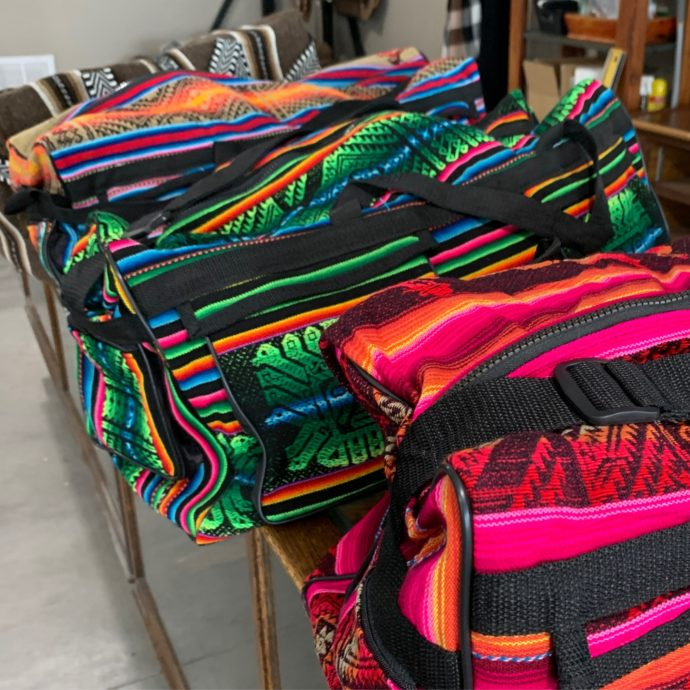 Peruvian Sports Bags - Variety of Color Options