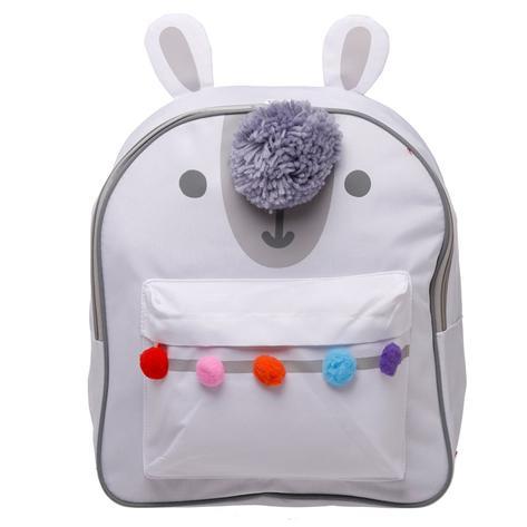 Llamapalooza Polyester Rucksack Backpack