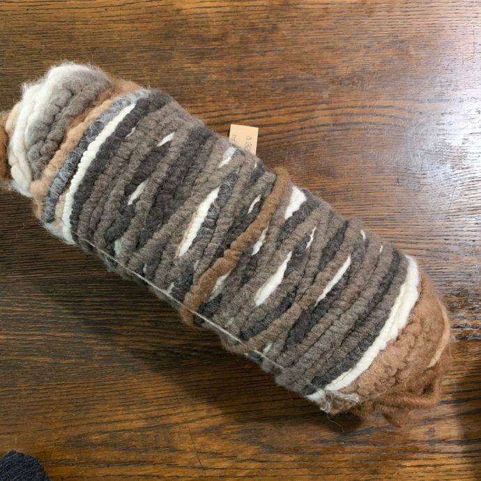 Core Spun Alpaca Rug Yarn - Attie's 2020 Fiber