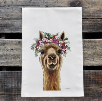 Alpaca Print Towel