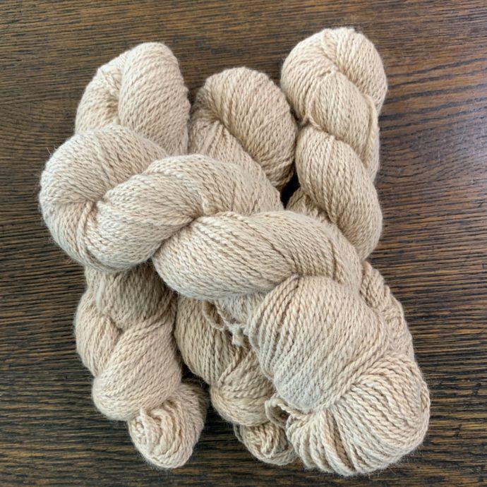 Pumpkin Alpaca Yarn in 2 Ply DK - Imperfect
