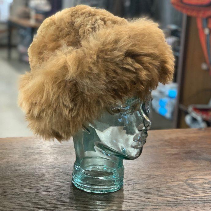 Fawn Baby Alpaca Fur Hat