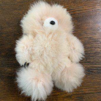 "14"" Plush Alpaca Teddy Bear"