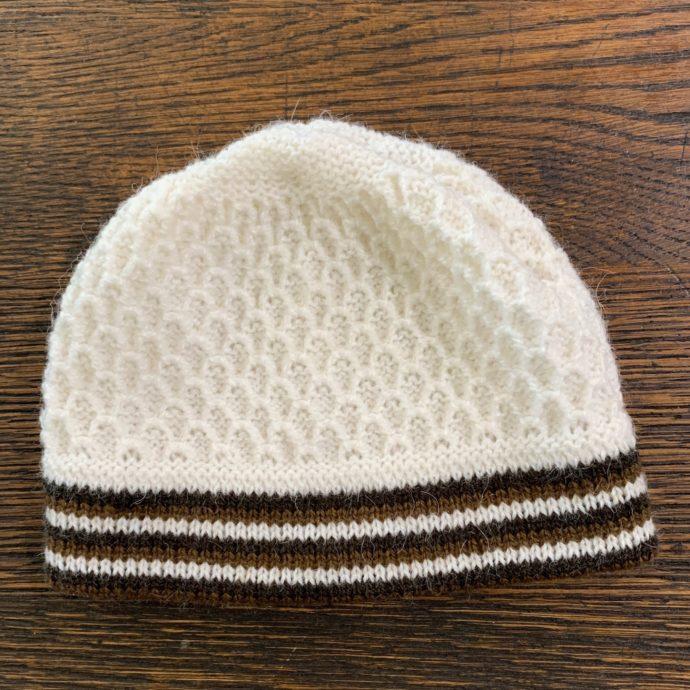 Kid's Knit Alpaca Beanie Hat