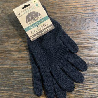 AS Black Alpaca Gloves in Large
