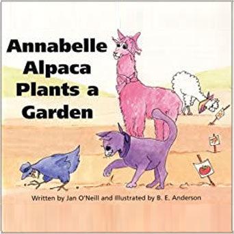 Book: Annabelle Alpaca Plants a Garden