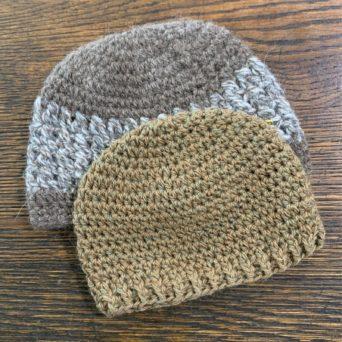 Alpaca Knit Baby Hat