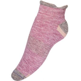 Unisex Alpaca Golf Socks in Nude & Taupe