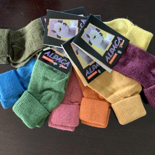 Kid's Alpaca Blend Crew Socks
