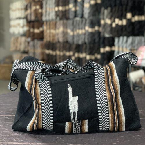Alpaca Travel Bag Black