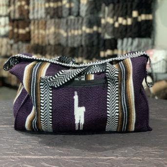 Alpaca Travel Bag Purple