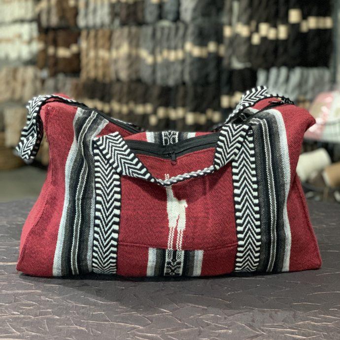 Alpaca Travel Bag Red