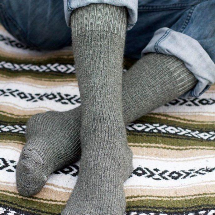 CAP Superwarm Alpaca Sock in Grey