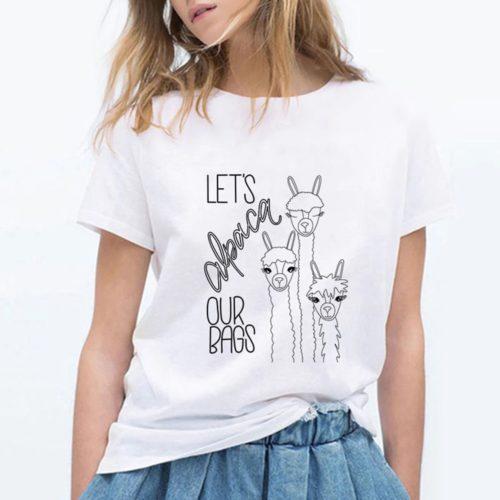 Alpaca Our Bag T-Shirt