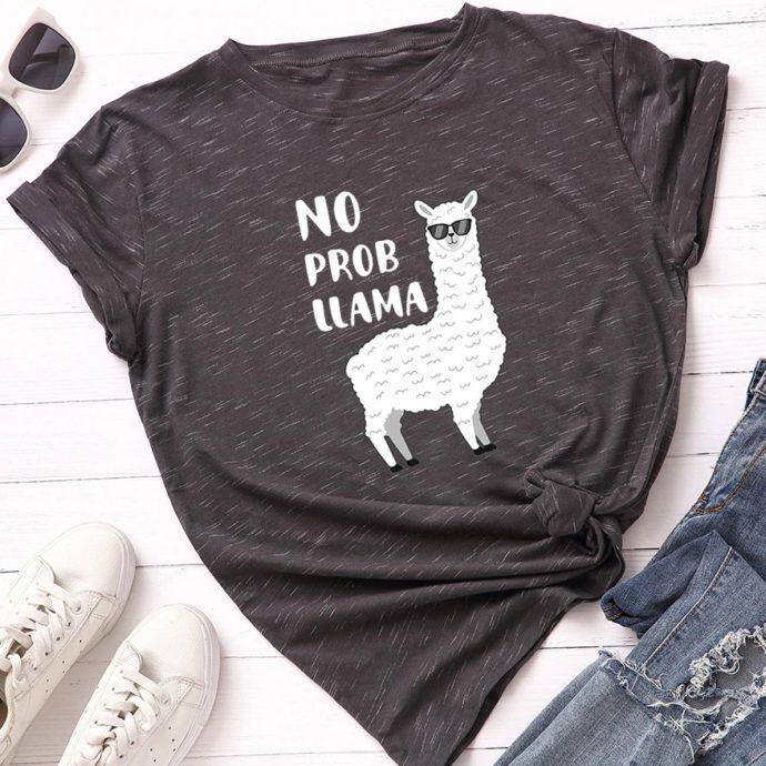 No Prom Llama T-Shirt