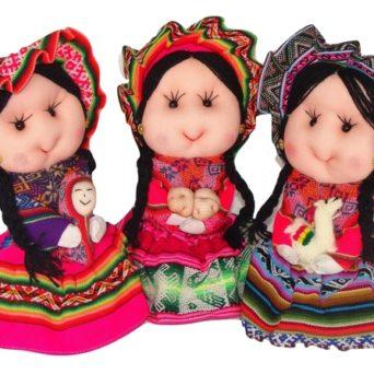 "8"" Handmade Andean Doll"