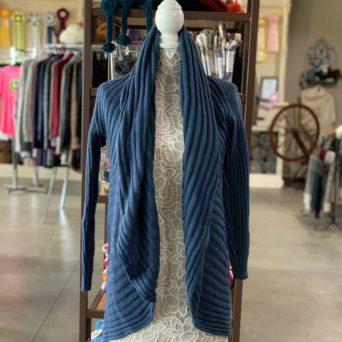Steel Blue Lima Alpaca Blend Sweater