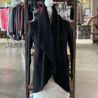 Black Lima Alpaca Blend Sweater