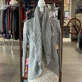 Light Silver Grey Lima Alpaca Blend Sweater
