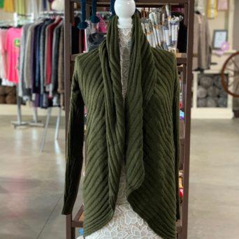Dark Green Lima Alpaca Blend Sweater